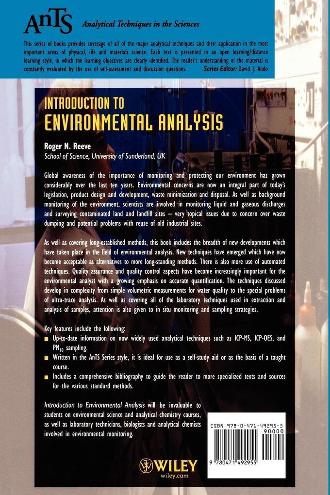 Introduction to Environmental Analysis als Buch (kartoniert)
