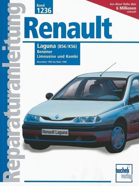 Renault Laguna 12/1993 bis 3/1998 als Buch (kartoniert)
