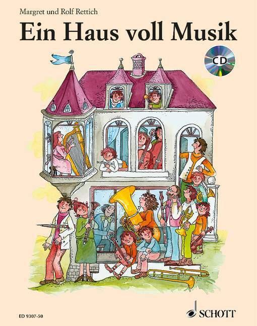 Ein Haus voll Musik/Mit CD als Buch (gebunden)
