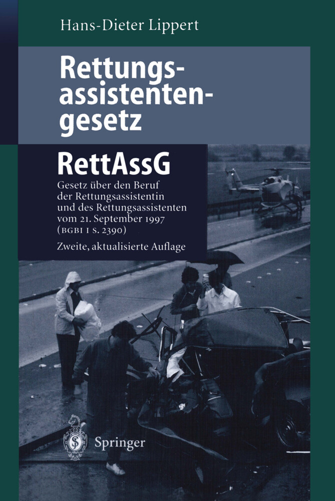 Rettungsassistentengesetz (RettAssG) als Buch (kartoniert)