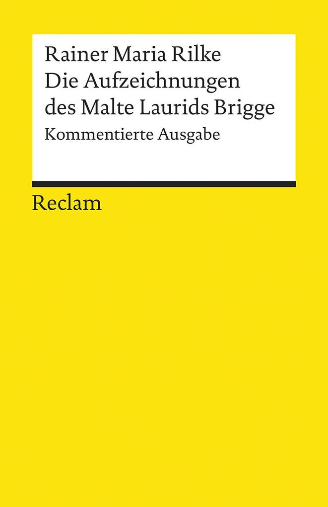 Die Aufzeichnungen des Malte Laurids Brigge als Buch (kartoniert)