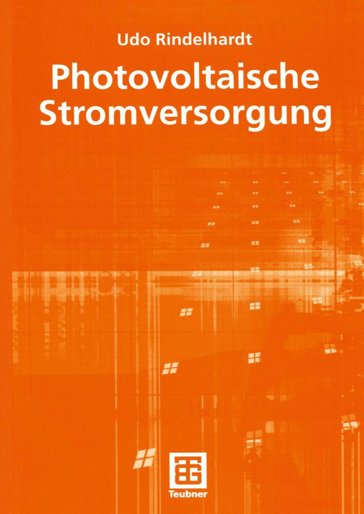 Photovoltaische Stromversorgung als Buch (kartoniert)
