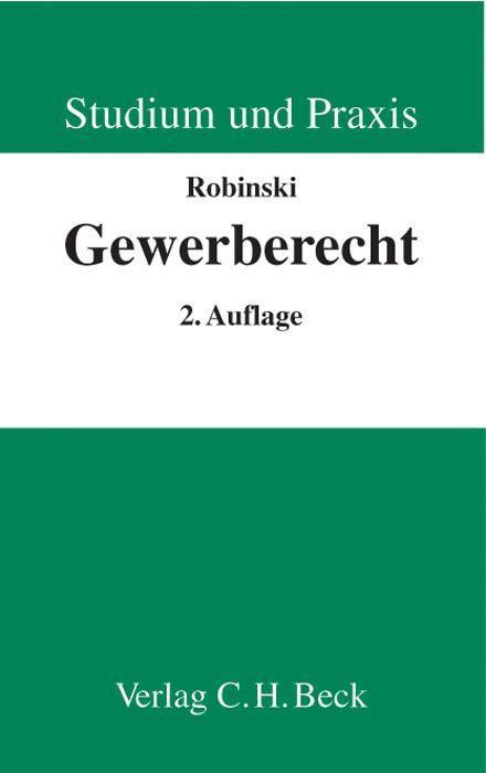 Gewerberecht als Buch (kartoniert)