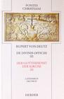 Der Gottesdienst der Kirche 3 / De divinis officiis 3