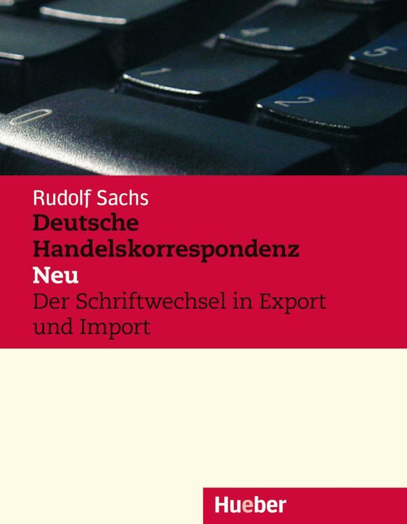 Deutsche Handelskorrespondenz als Buch (kartoniert)