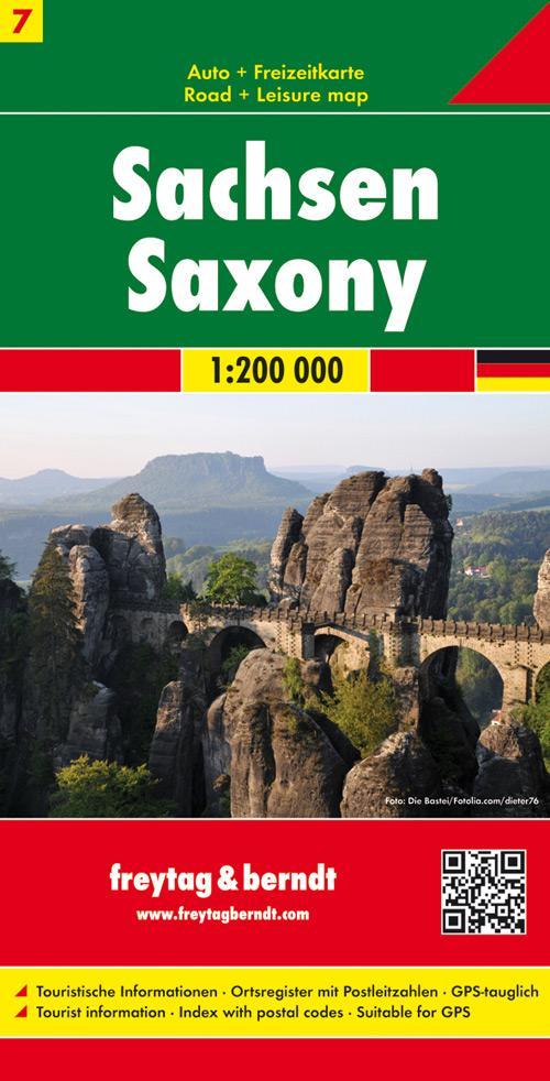 Deutschland 07 Sachsen 1 : 200 000 als Blätter und Karten