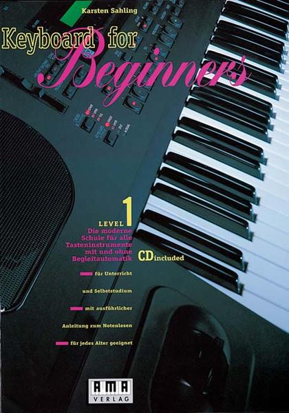 Keyboard for Beginners. Inkl. CD als Buch (kartoniert)