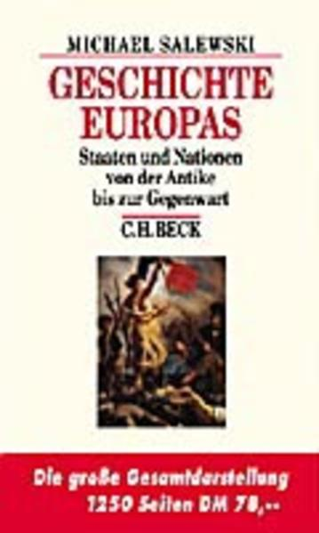 Geschichte Europas als Buch (gebunden)