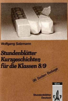 Stundenblätter Kurzgeschichten für die Klassen 8./9 als Buch (kartoniert)