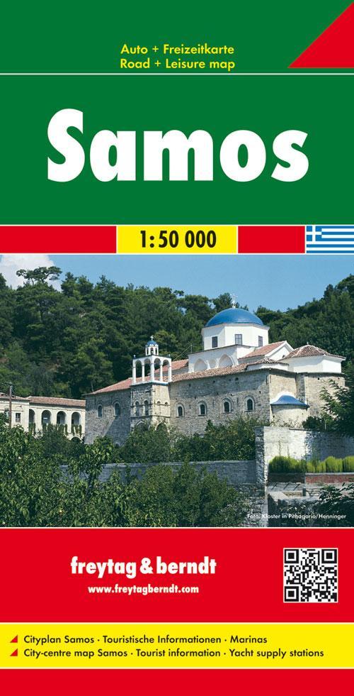 Samos 1 : 50 000 als Blätter und Karten