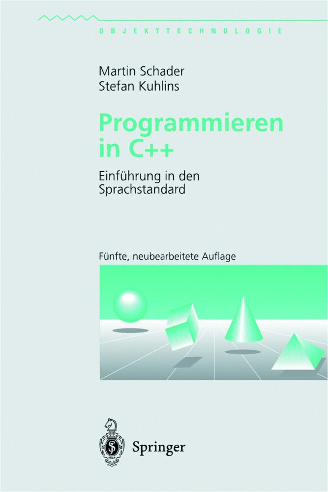Programmieren in C++ als Buch (kartoniert)