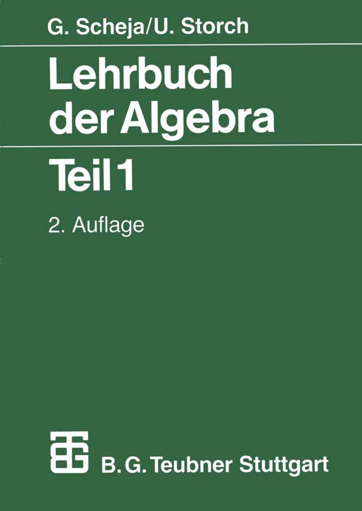 Lehrbuch der Algebra als Buch (kartoniert)