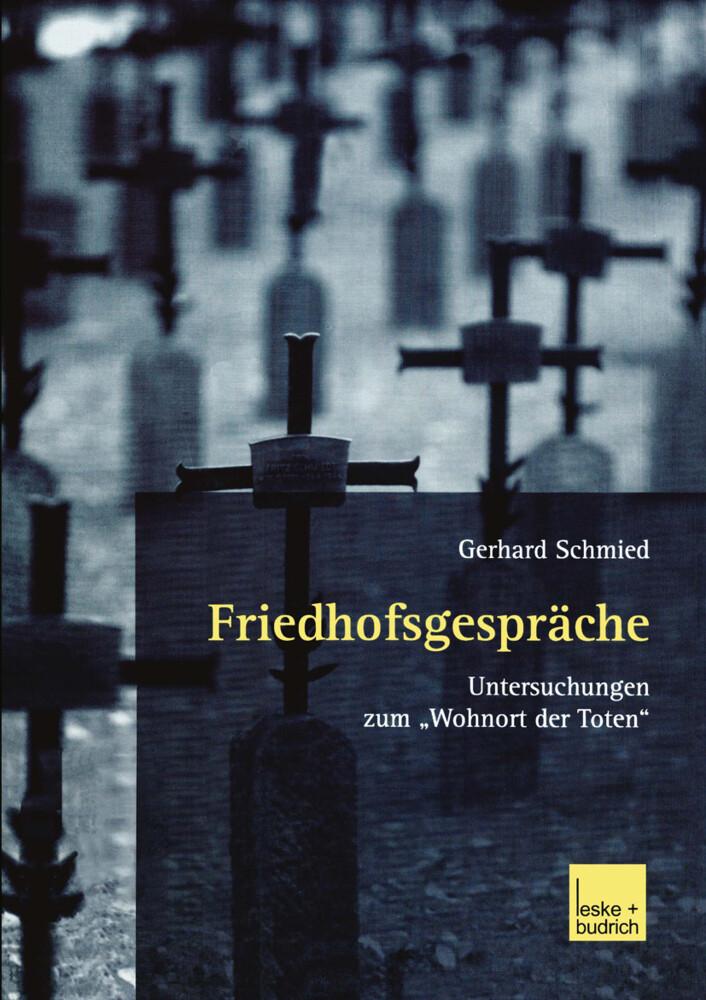 Friedhofsgespräche als Buch (kartoniert)