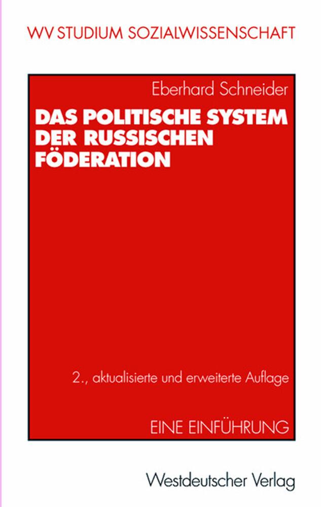 Das politische System der Russischen Föderation als Buch (kartoniert)