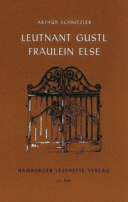 Leutnant Gustl / Fräulein Else als Buch (kartoniert)