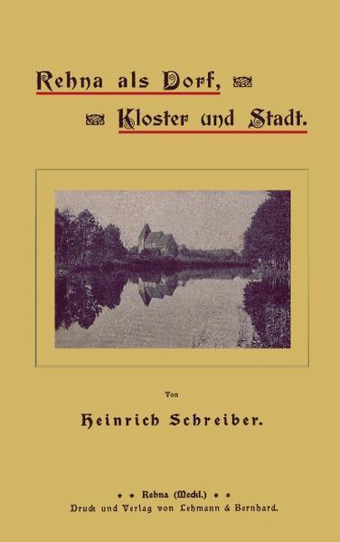 Rehna als Dorf, Kloster und Stadt als Buch (kartoniert)