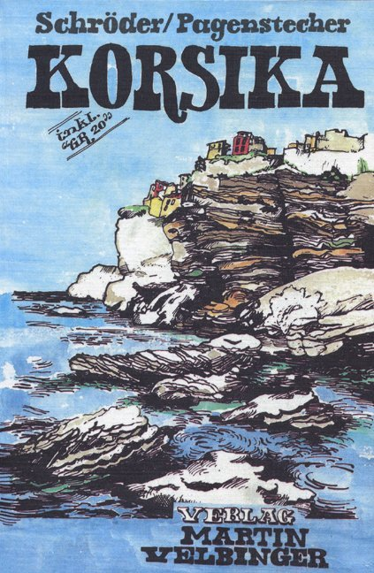 Korsika als Buch (kartoniert)