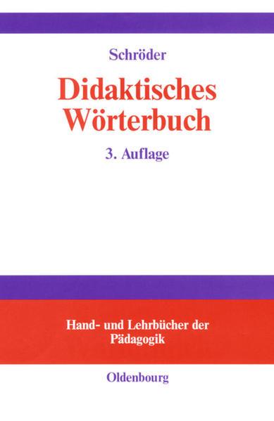 Didaktisches Wörterbuch als Buch (gebunden)
