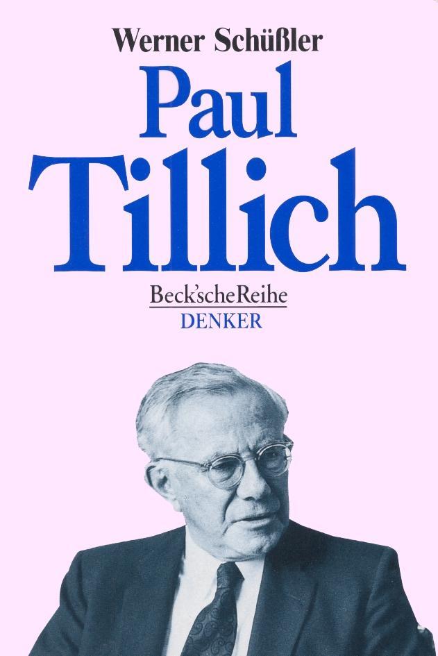 Paul Tillich als Taschenbuch