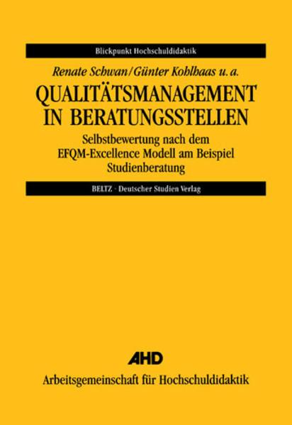 Qualitätsmanagement in Beratungsstellen als Buch (kartoniert)