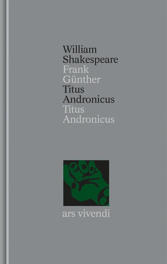 Titus Andronicus als Buch (gebunden)