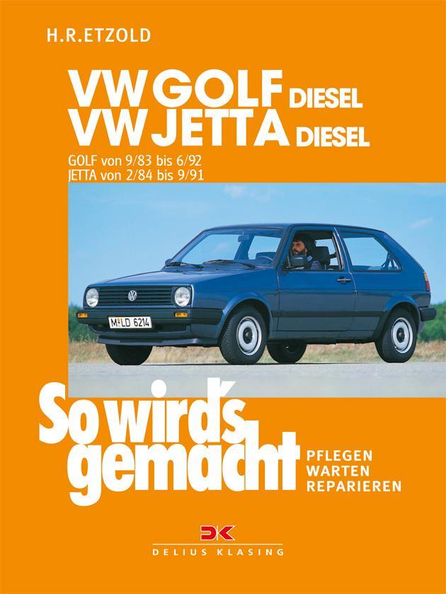 So wird's gemacht, VW GOLF DIESEL / VW JETTA Diesel als Buch (kartoniert)