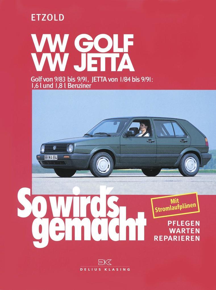 So wird's gemacht. VW Golf / Jetta als Buch (kartoniert)