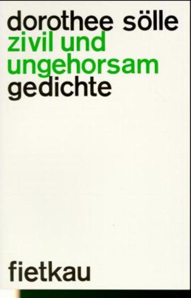 Zivil und ungehorsam als Buch (kartoniert)