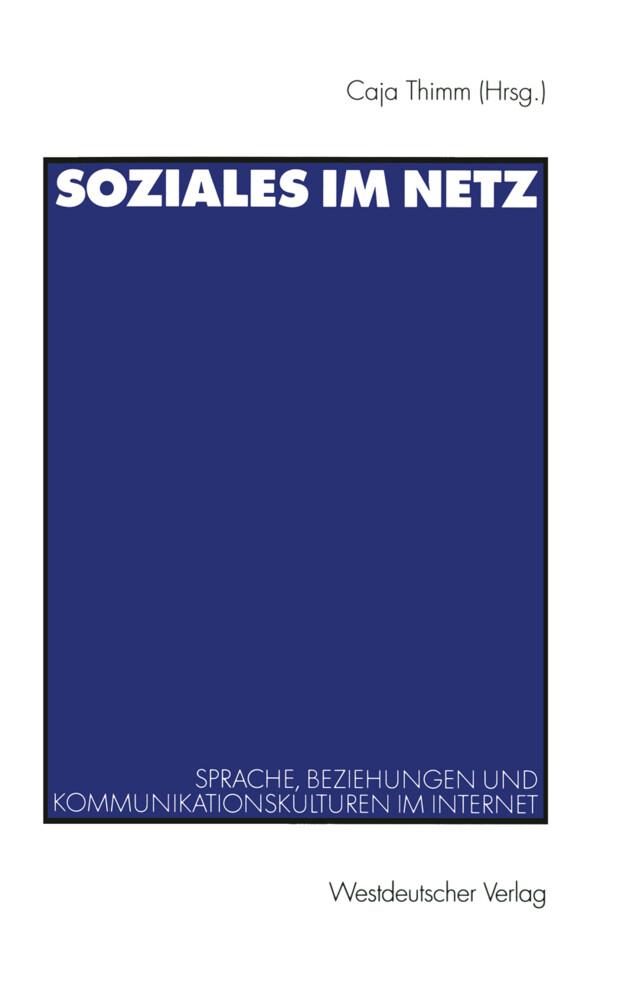 Soziales im Netz als Buch (kartoniert)