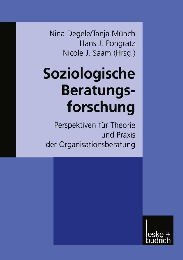 Soziologische Beratungsforschung als Buch (gebunden)