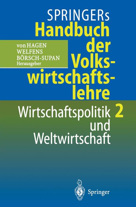 Wirtschaftspolitik und Weltwirtschaft als Buch (gebunden)