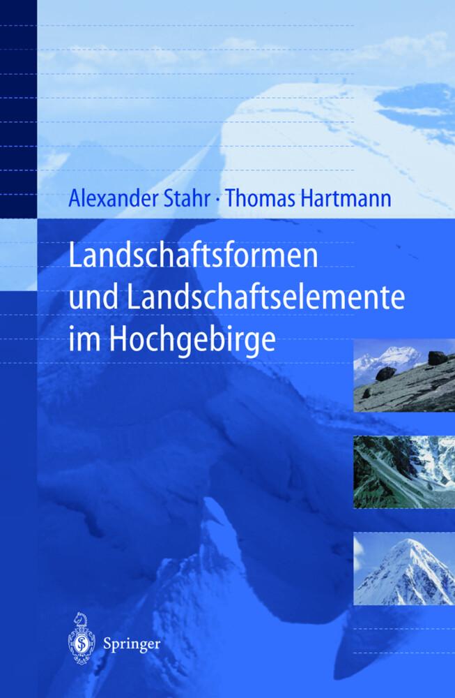 Landschaftsformen und Landschaftselemente im Hochgebirge als Buch (kartoniert)