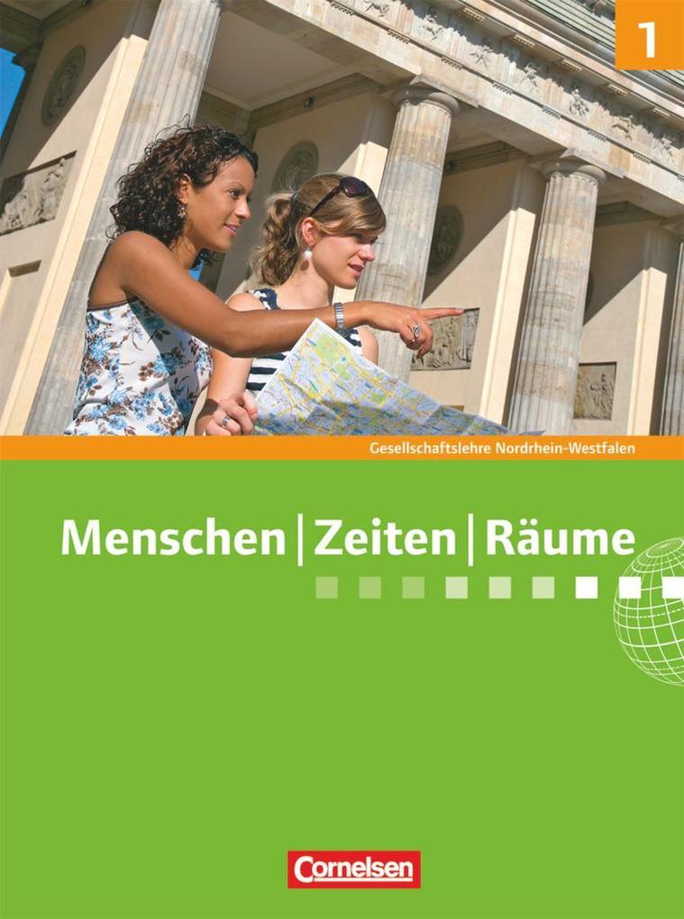 Menschen Zeiten Räume 5./6. Schuljahr. Schülerbuch. Nordrhein-Westfalen als Buch (gebunden)