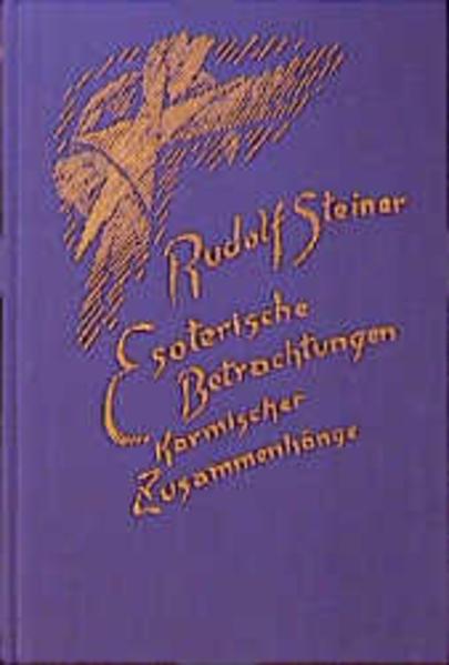 Esoterische Betrachtungen karmischer Zusammenhänge 4 als Buch (gebunden)
