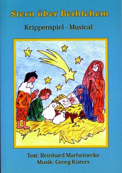 Stern über Bethlehem als Buch (kartoniert)