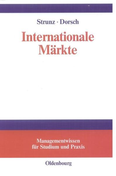 Internationale Märkte als Buch (gebunden)