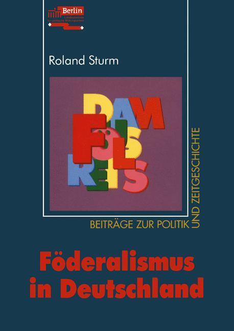 Föderalismus in Deutschland als Buch (kartoniert)