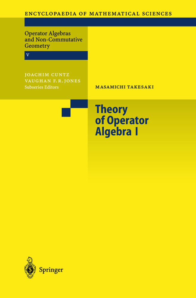 Theory of Operator Algebras 1 als Buch (gebunden)