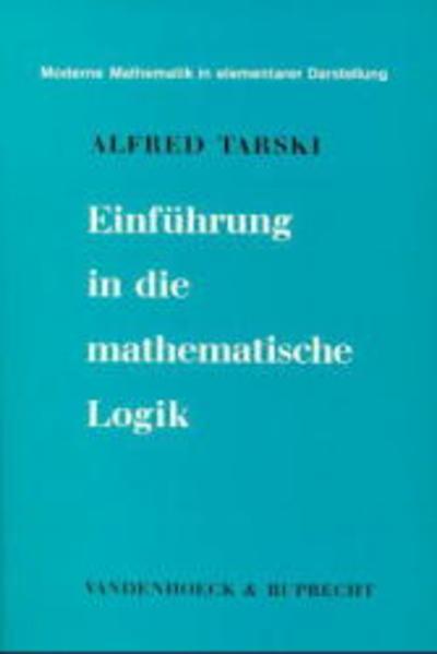 Einführung in die mathematische Logik als Buch (kartoniert)