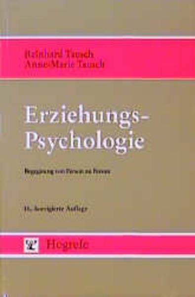 Erziehungspsychologie als Buch (kartoniert)