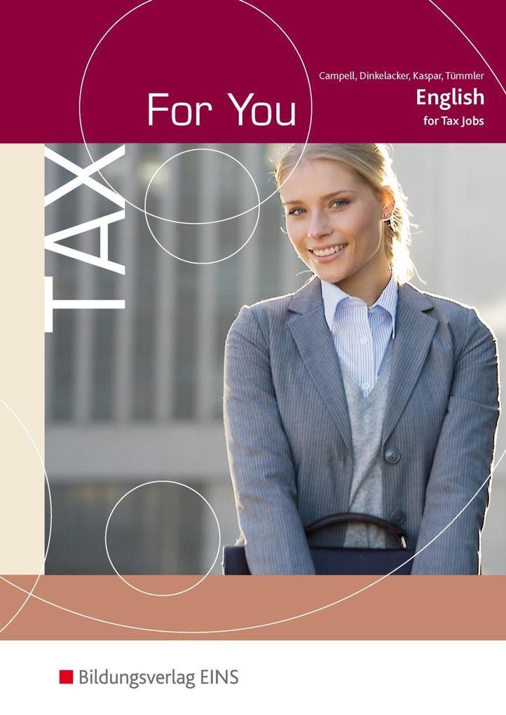 Tax For You als Buch (kartoniert)
