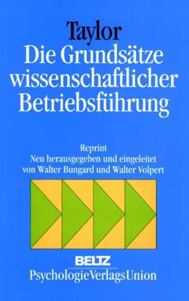 Die Grundsätze wissenschaftlicher Betriebsführung als Buch (kartoniert)