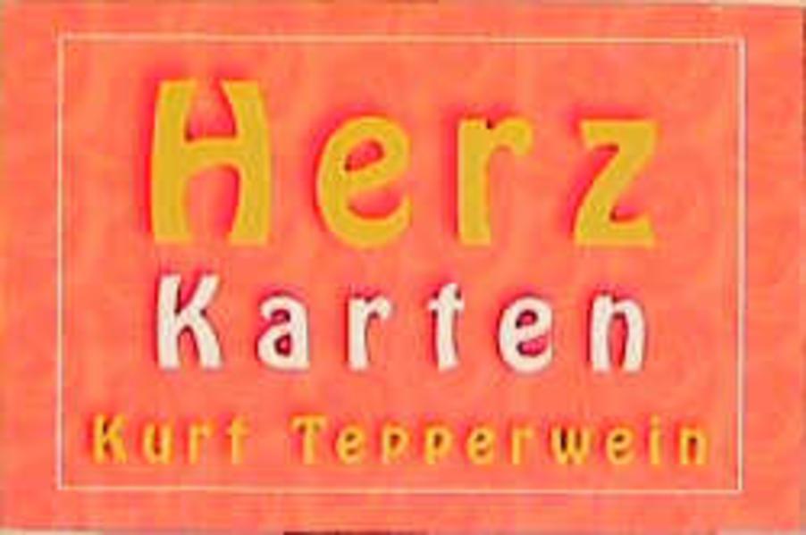Tepperwein, K: Herz-Karten als Buch