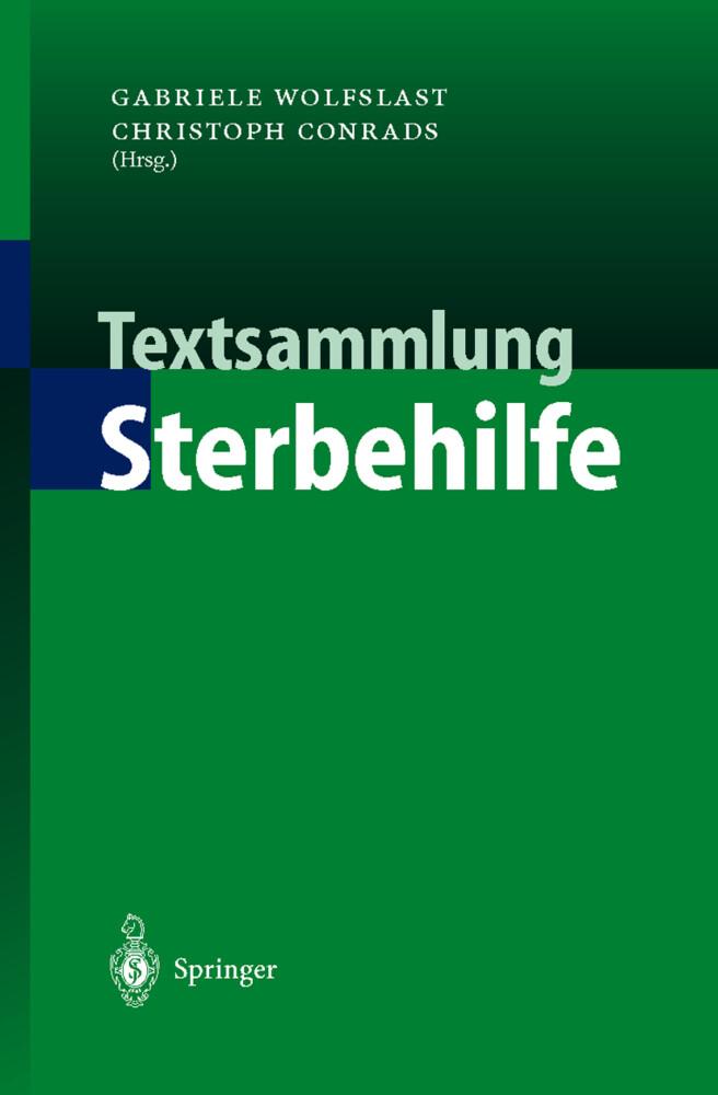 Textsammlung Sterbehilfe als Buch (kartoniert)