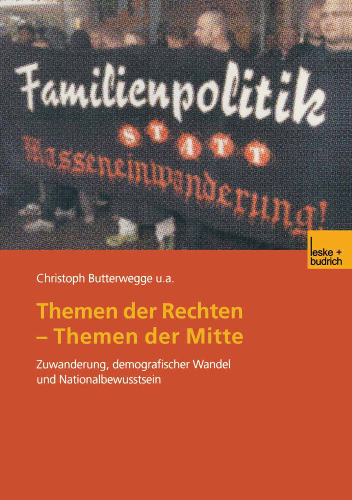 Themen der Rechten - Themen der Mitte als Buch (kartoniert)