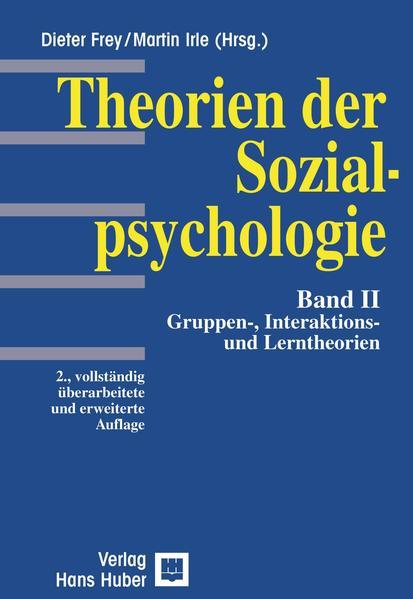 Theorien der Sozialpsychologie 2 als Buch (kartoniert)