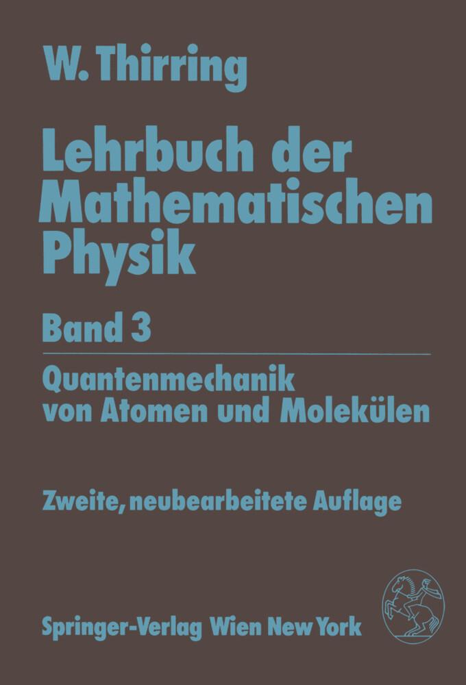 Lehrbuch der Mathematischen Physik als Buch (kartoniert)