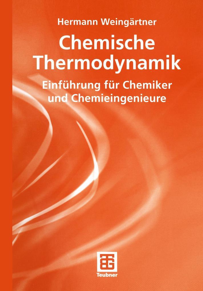 Chemische Thermodynamik als Buch (kartoniert)