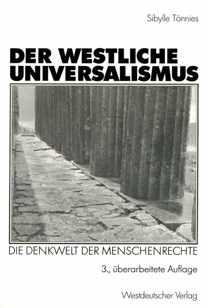 Der westliche Universalismus als Buch (kartoniert)
