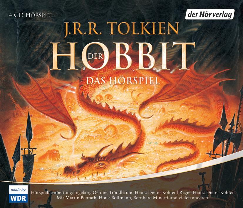 Der Hobbit. Sonderausgabe. 4 CDs als Hörbuch CD